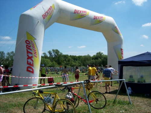 Dextro-Hans - Hennef Triathlon - Ziel